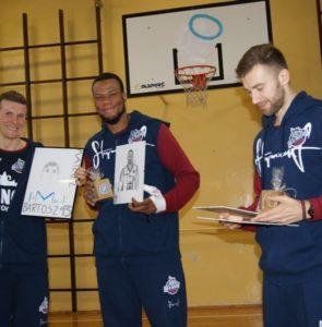 Spotkanie z zawodnikami klubu koszykówki King Wilki Morskie Szczecin